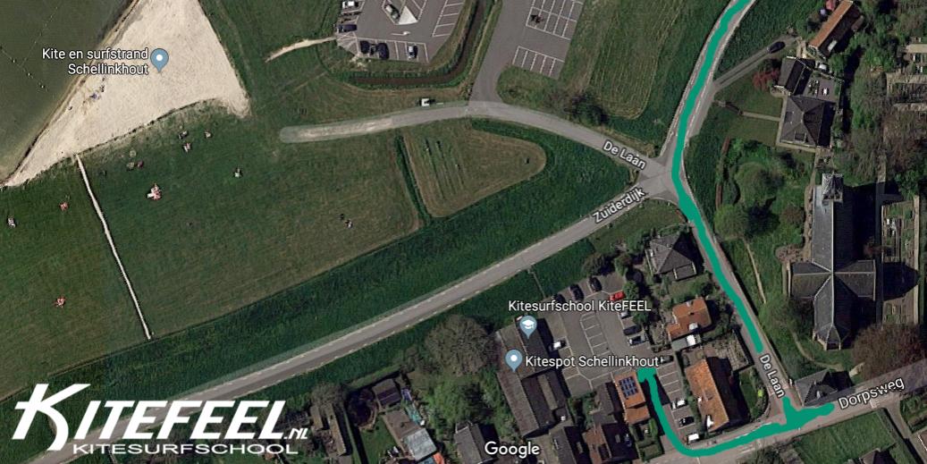 KiteFEEL-locatie