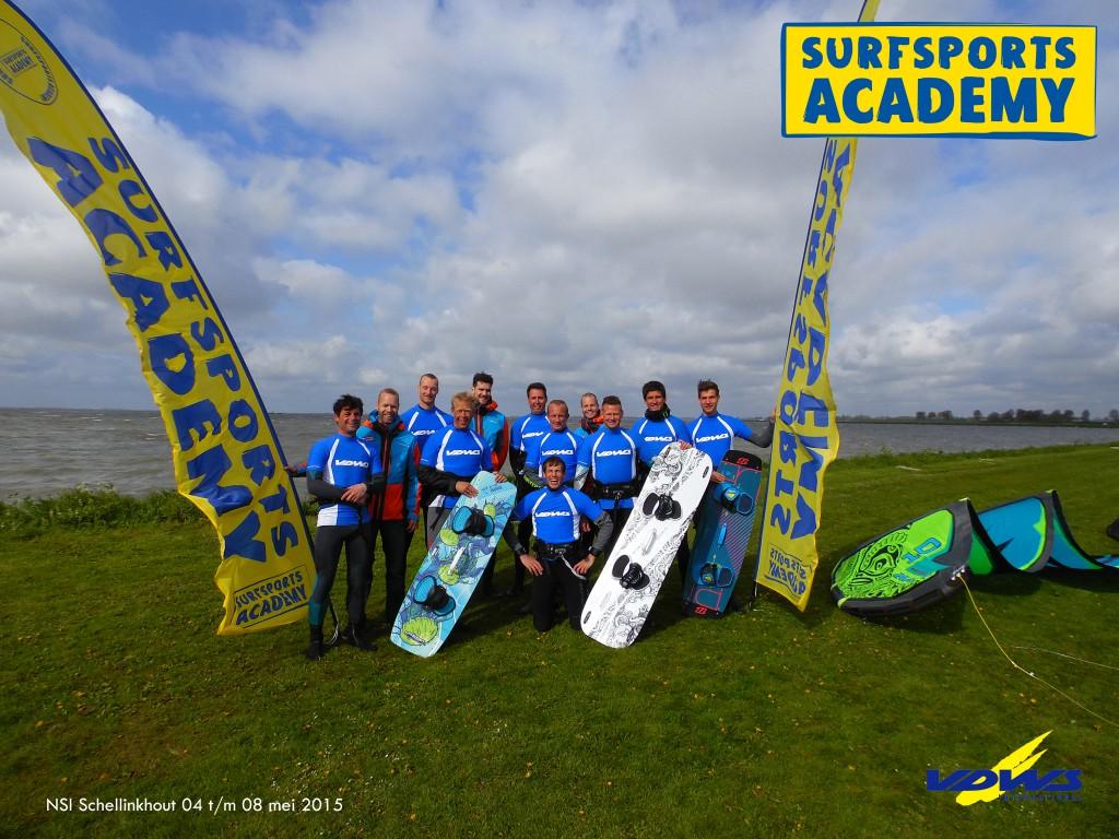 Groepsfoto-Surfsports Academy