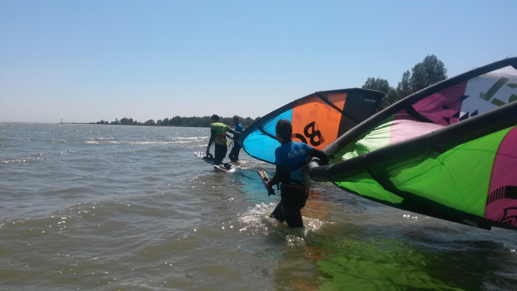 Kitesurfles Noord-Holland