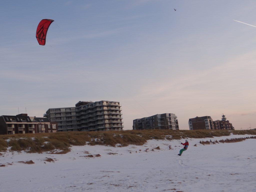 KiteFEEL-Snowkite-Strand