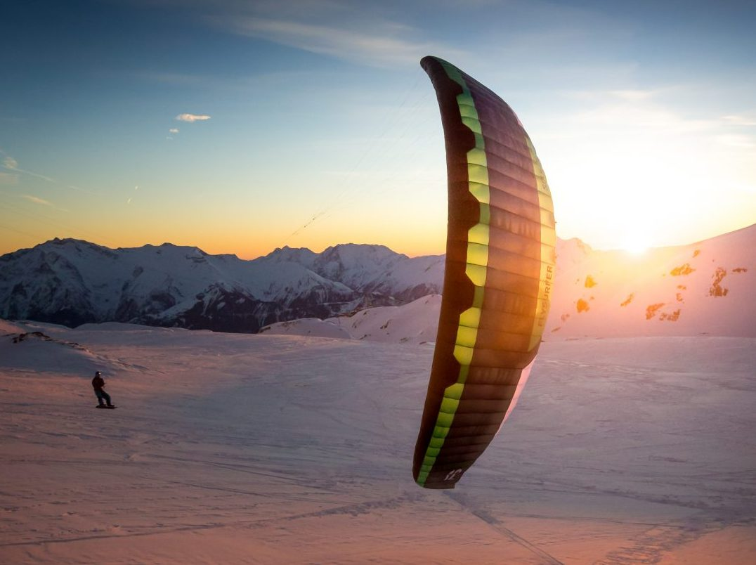 KiteFEEL-Snowkite-Wasserkuppe