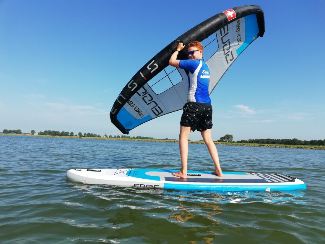 Wingsurfen-Doorvaren-KiteFEEL-Surfschool